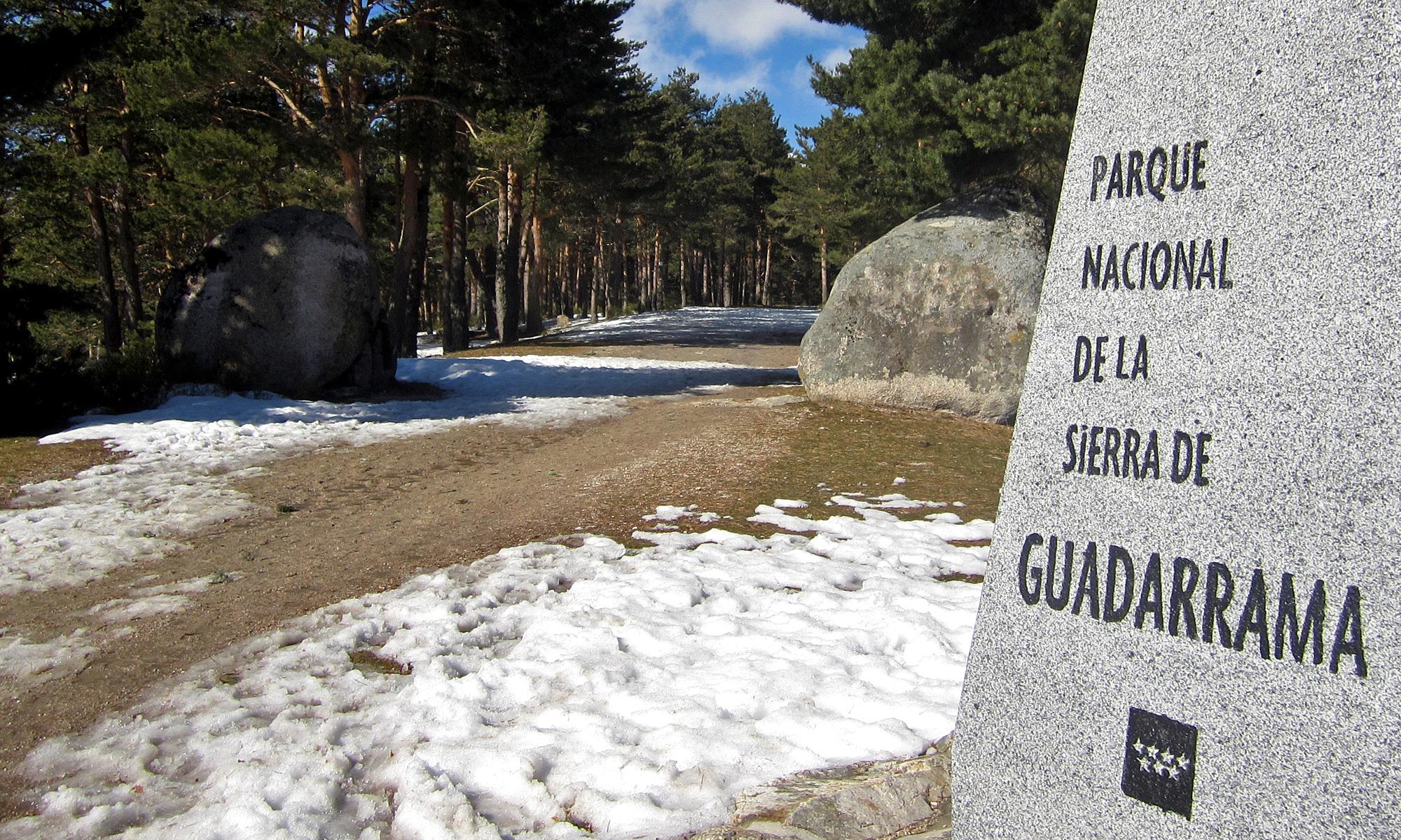 Carretera de la República - Valle de la Fuenfría.