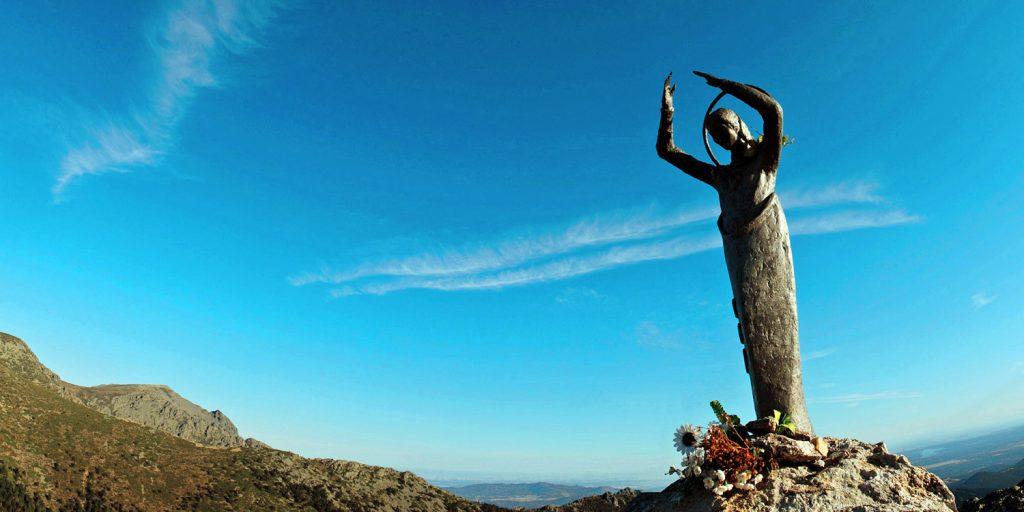 Virgen de las Nieves - Alto del Telégrafo