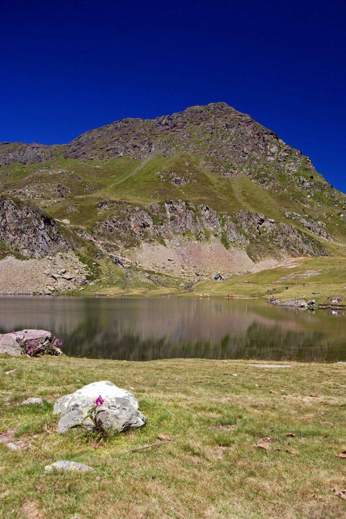 Ruta de los lagos de Ayous. Pirineo Atlántico francés.