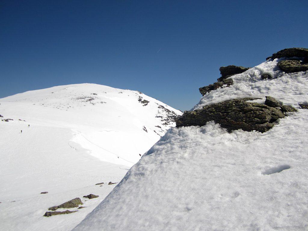 Vista del pico de Peñalara desde Hermana Mayor
