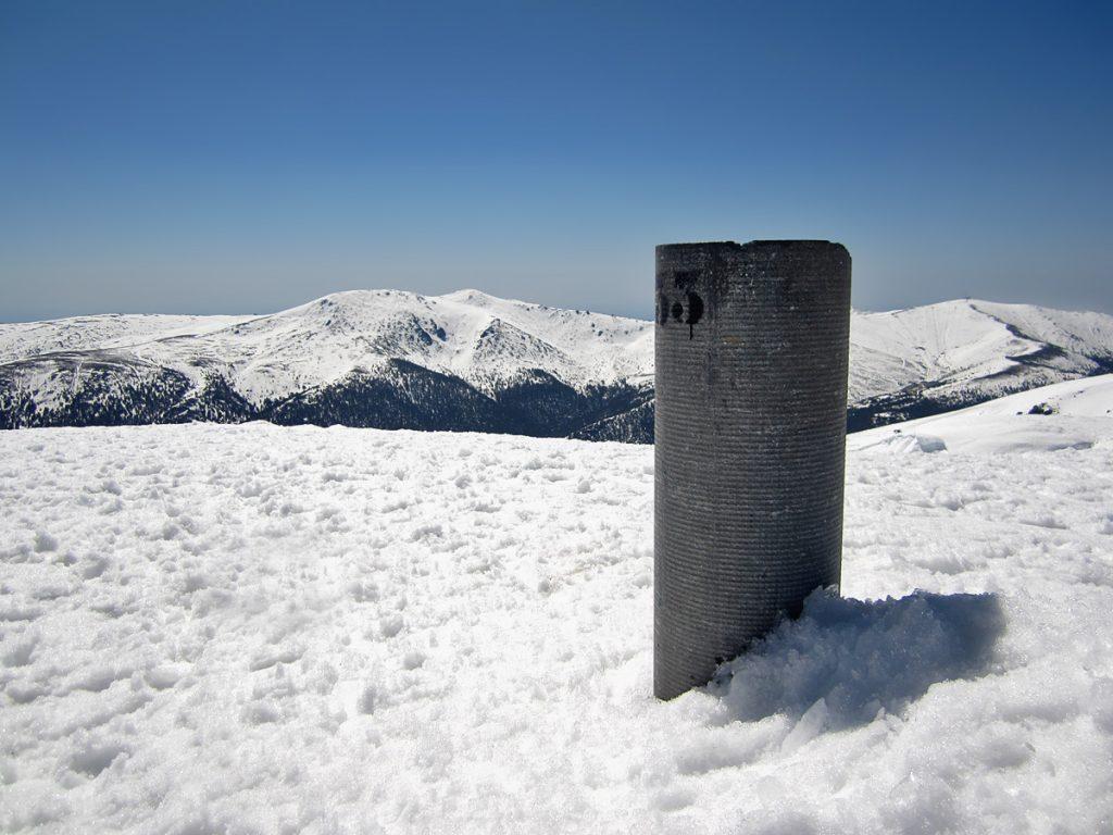 Vértice geodésico de Peñalara (2.428 metros)