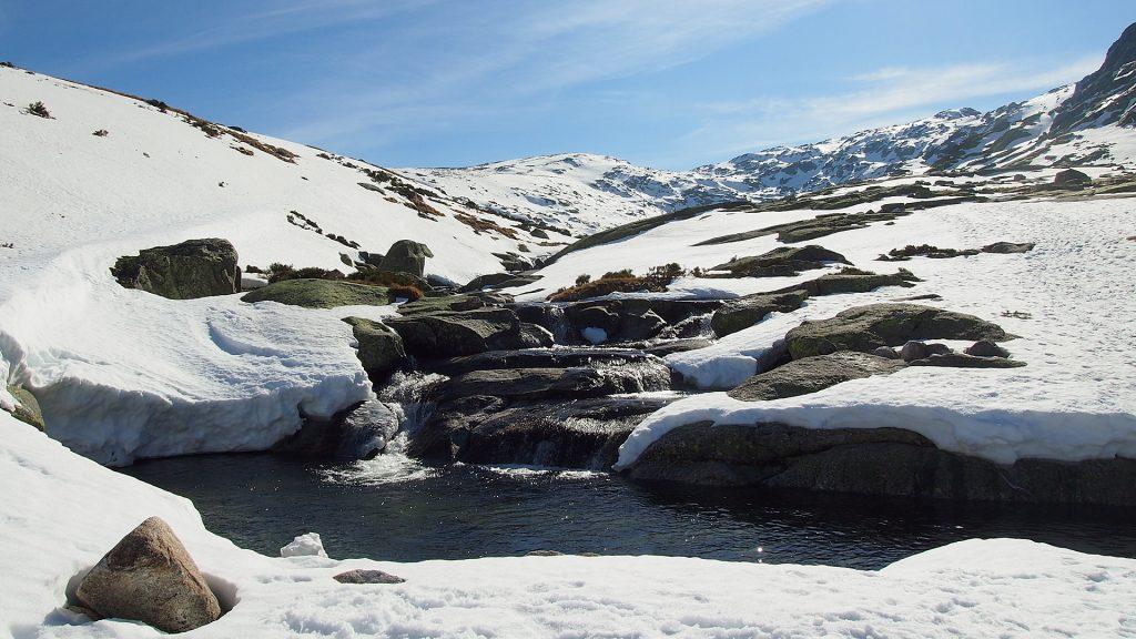 Vista de la Garganta del río Pozas