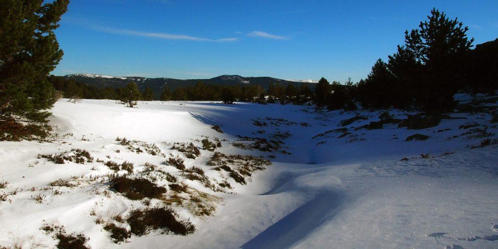 Vista de los Llanos de la Sierra
