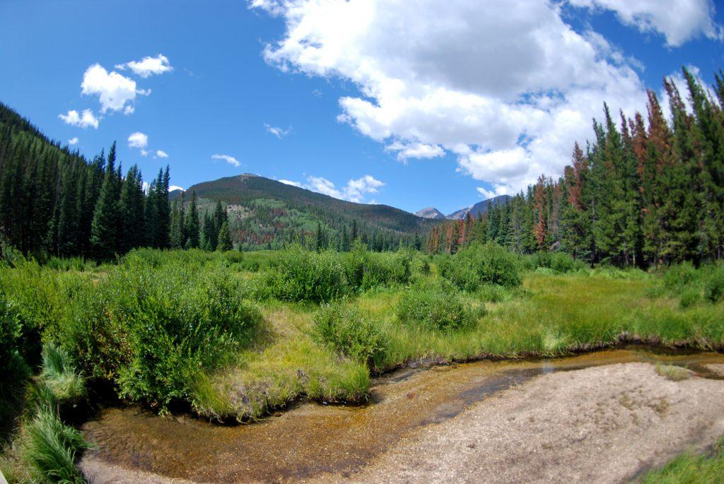 Mummy Range. Parque Nacional de las Rocosas, Colorado.