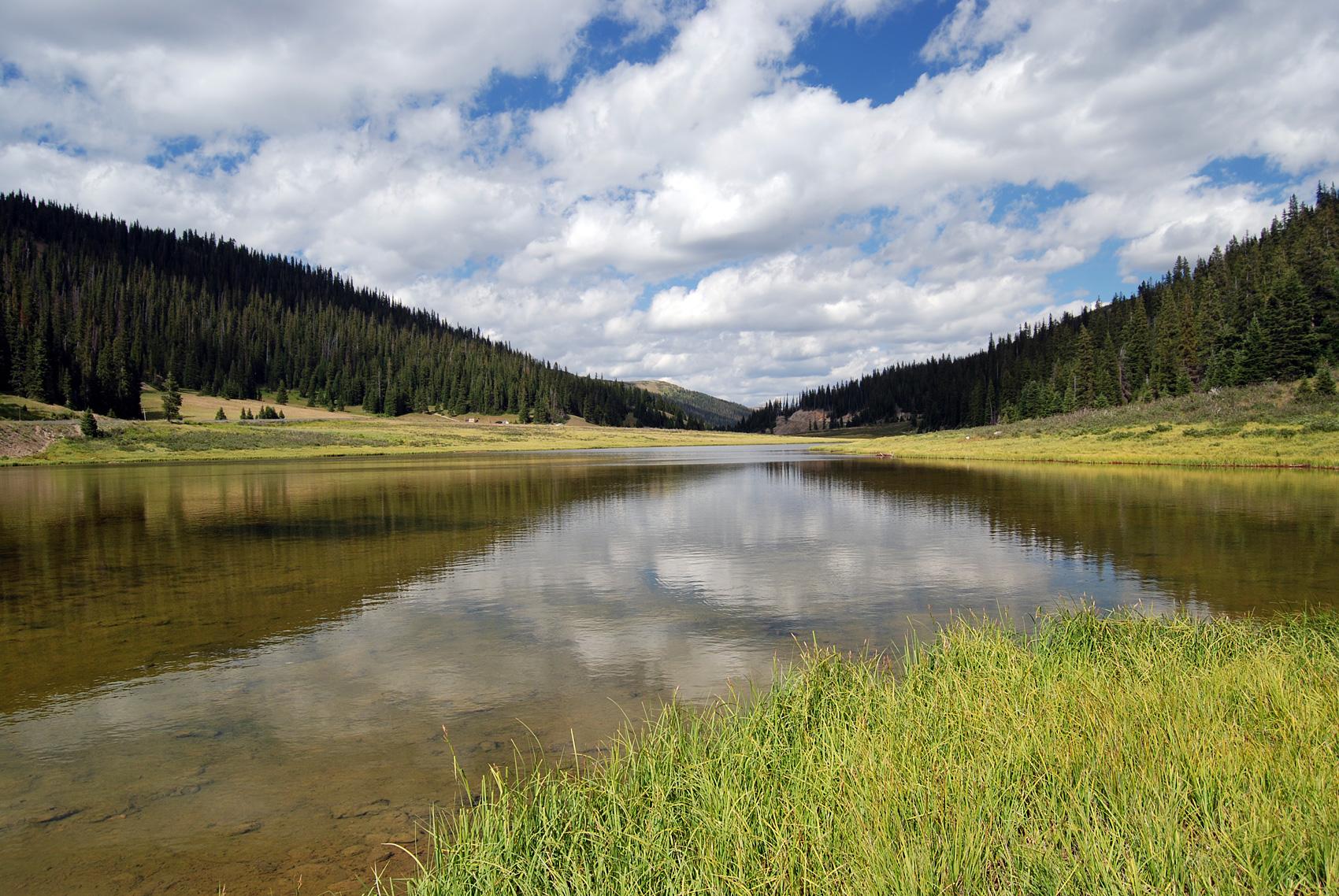 Poudre Lake. Parque Nacional de las Rocosas, Colorado