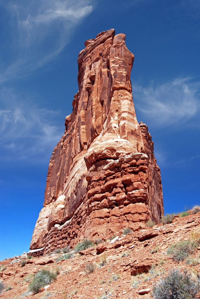 Arches National Park, Utah. Courthouse Towers