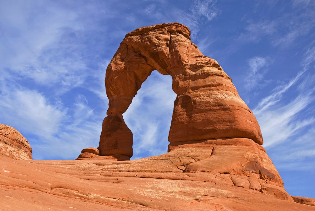 Arches National Park, Utah. Delicate Arch.