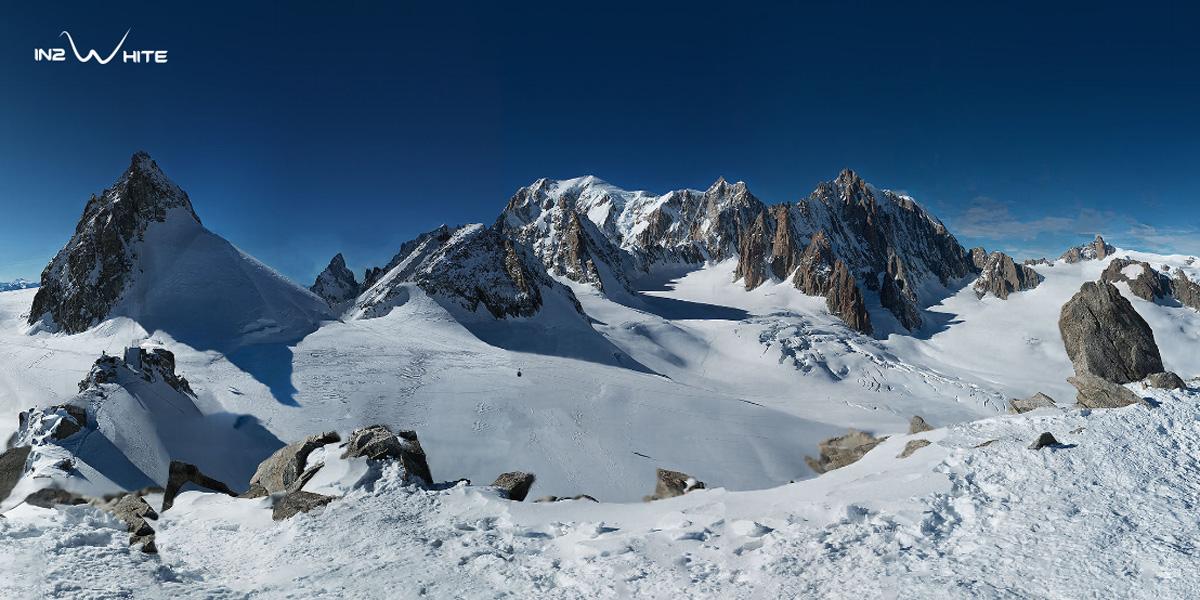 Panorámica del Mont Blan