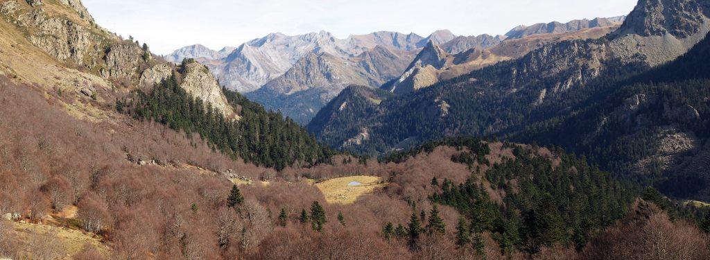 Valle de Ossau. Pirineo francés.