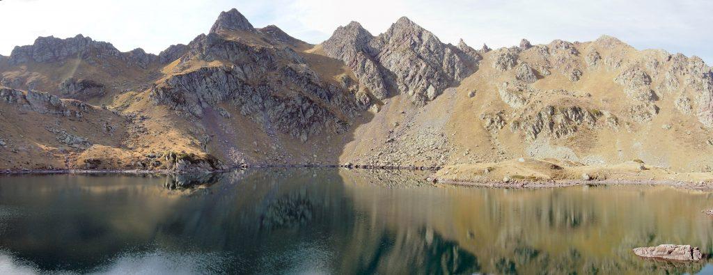 Vista del lago Bersau