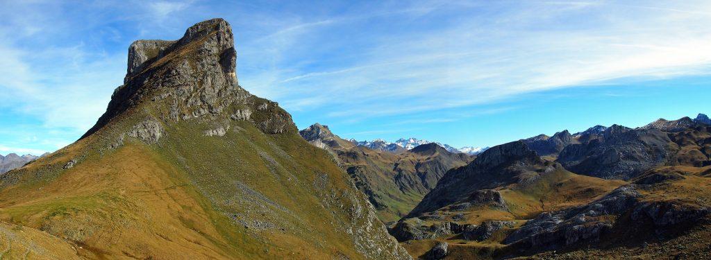 Vista del Pico Casterau
