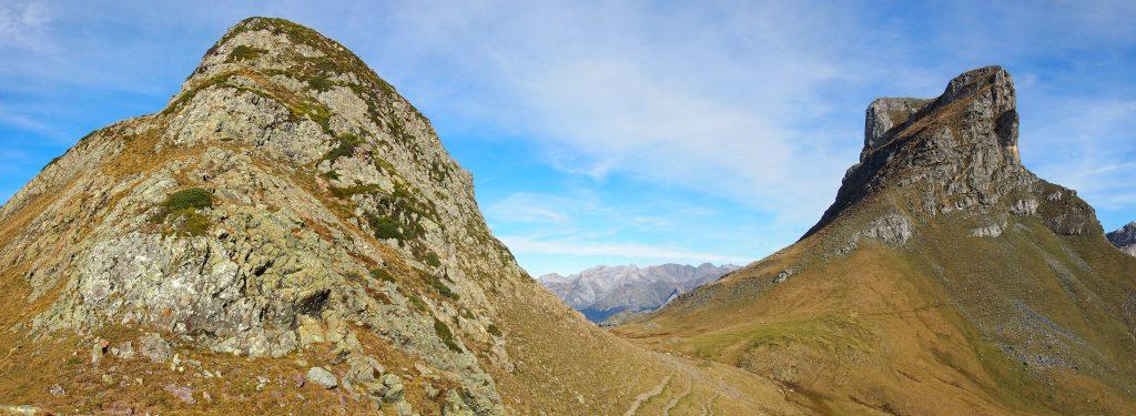 Vista del Pic Casterau (derecha).