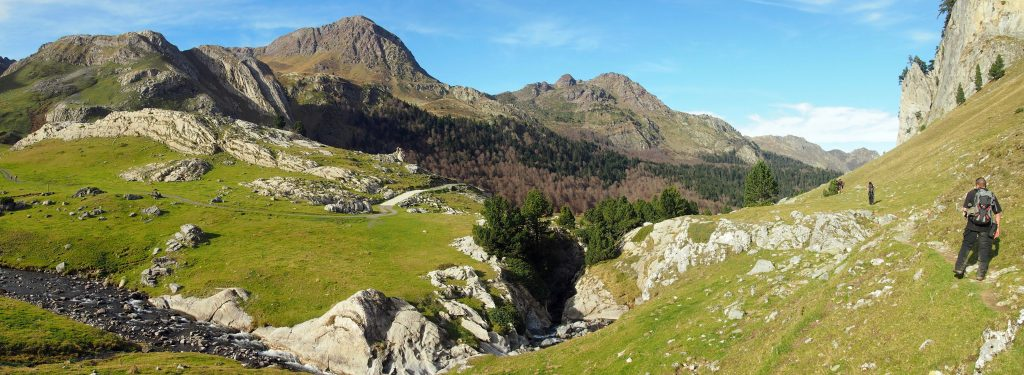 Vista del Valle de Gave de Bious.