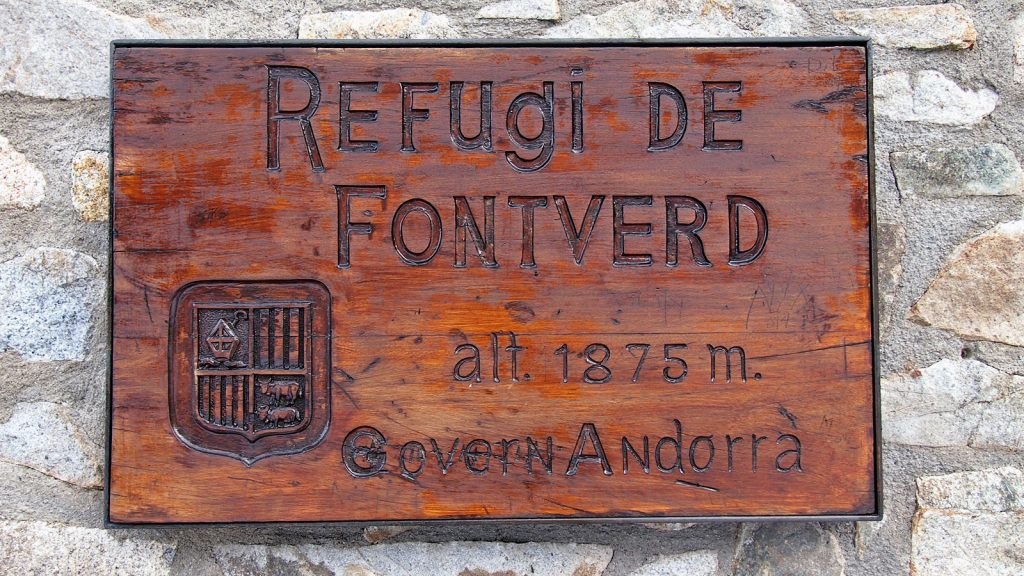 Refugi de Fontverd – Madriu-Perafita-Claror por el GR11 desde el Estany d'Engolasters. Emcamp, andorra.