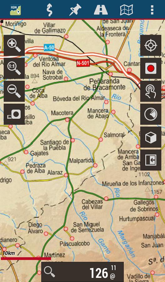 Mapas de España del Instituto Geográfico Nacional