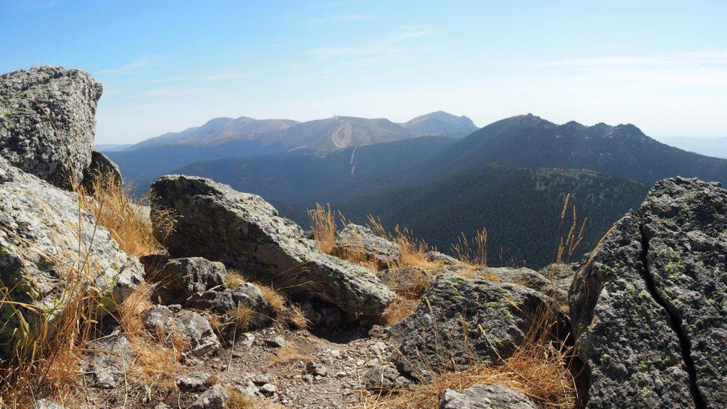 Siete Picos y la Cuerda Larga desde la cumbre de Montón de Trigo