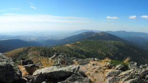 Cerro Minguete, Peña Bercial y Peña del Águila desde la cumbre de Montón de Trigo.