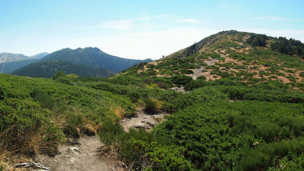 Siete Picos y Cerro Minguete desde el Collado Minguete