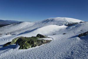 Valdemartín y pistas de esquí de Valdesquí