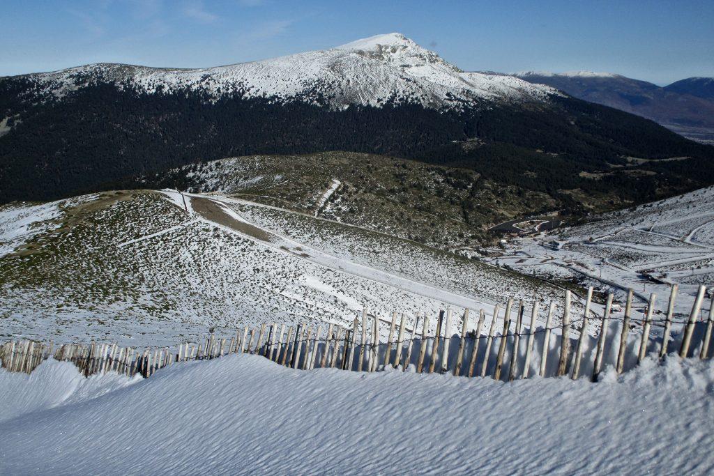 Pico de Peñalara desde la Loma del Noruego