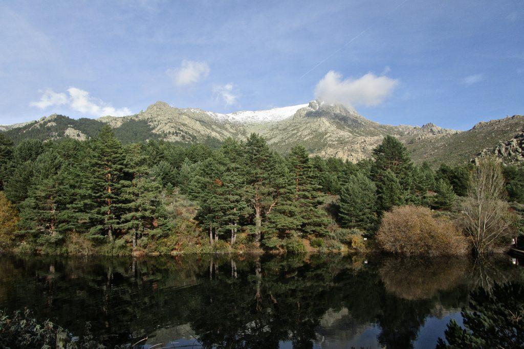 Pico de la Maliciosa desde el Valle de la Barranca