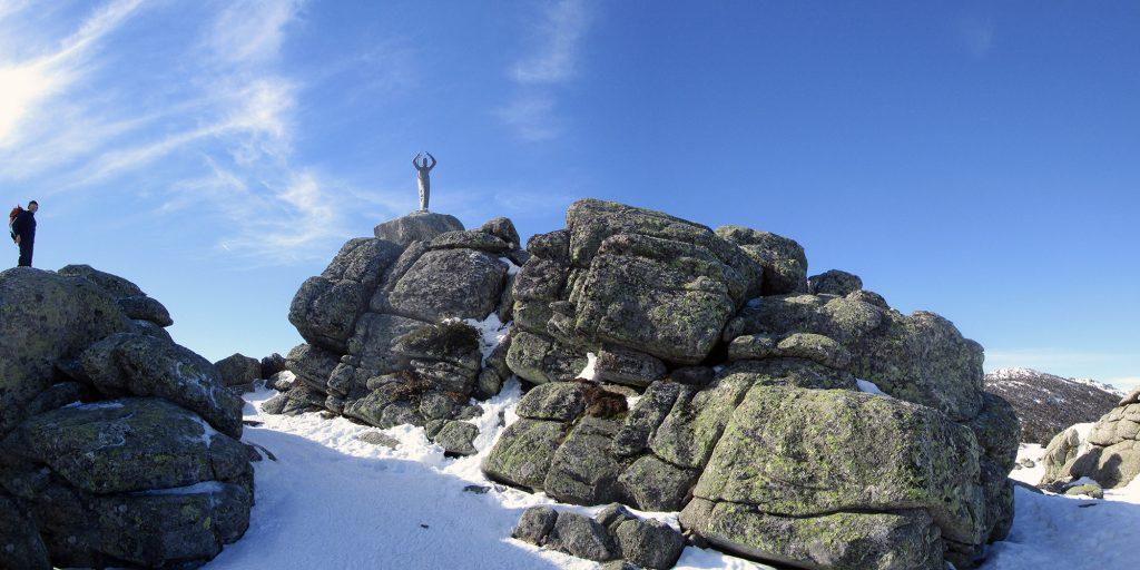 Alto del Telégrafo y Virgen de las Nieves