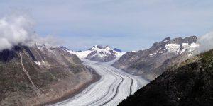 Glaciar de Aletsch desde el pico Eggishorn